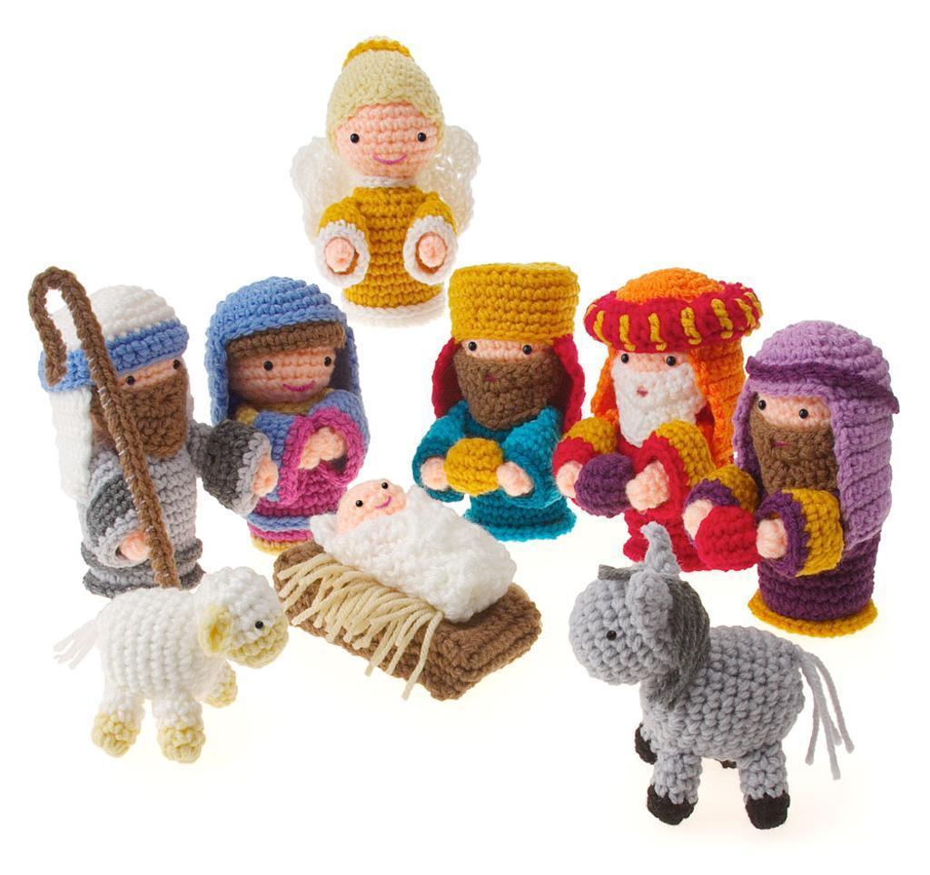 Мала галерија за Божић - ручни радови инспирисани Рођењем Христовим 1