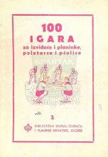 Omot za knjigu 100 igara - za izviđače i planinke, poletarce i pčelice