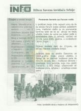 ИНФО Билтен Савеза извиђача Србије, број 21 за 25.мај 2005.године