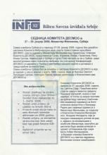 INFO Bilten SIS, broj 26 za 15.februar 2006.godine