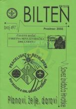 Bilten Saveza izviđača Hrvatske, br. 497 (prosinac 2005.)