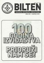 BILTEN - Službeno glasilo Saveza izviđača Hrvatske, broj 509 za siječanj 2007.godine