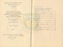 Programi rada ČETA I VOD - zima (Biblioteka izviđača Srbije ''Moja mala knjiga'' - sveska 4), Beograd 1967.godine
