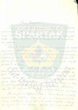 Pismo-poziv drugu Krajgeru za prisustvovanje svečanoj konferenciji povodom 30 godina rada izviđača Subotice