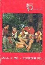 Omot za knjigu Taborniški priročnik - DELO Z MEDVEDKI IN ČEBELICAMI - Posebni del, izd. Ljubljana 1981.godine