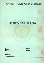Dnevnik rada voda ili jata (Odred izviđača ''Matko Vuković'' Subotica)