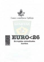 EURO<26 - Evropska omladina kartica - Vodič Saveza izviđača Srbije za korišćenje Evropske omladinske kartice