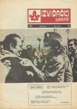 Насловница часописа Извиђачки вјесник - бр.238, мај 1984.
