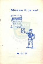Naslovnica okružnice - Inicijativni prijedlog za izdavanje izviđačkih novina (nove serije ''Mi mladi'') - 16.02.1982.