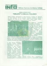 INFO Bilten Saveza izviđača Srbije, broj 4 za 25.februar 2004.godine