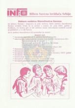 INFO Bilten Saveza izviđača Srbije, broj 10 za 14.jun 2004.godine