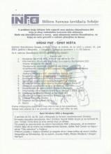 INFO Bilten Saveza izviđača Srbije, broj 11 za 9.jul 2004.godine