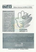 INFO Bilten SIS, broj 24 za 29.septembar 2005.godine
