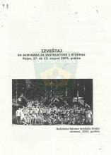 Извештај са семинара за инструкторе 1. степена (Рајац, 17-23. август 2003.)