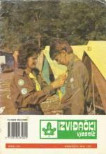 Izviđački vjesnik - broj 292 za maj 1991.godine