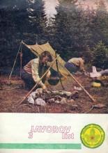 Omot za izviđački časopis Javorov list, broj 3 za decembar 1986. godine