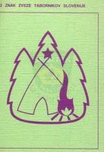 Izviđačke razglednice priručnici-podsetnici (izdala ih Zveza tabornikov Slovenije)