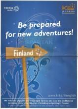 Be prepared for new adventures! Finland - Kilke VI Finnjamboree (28.07.-05.08.2010.)