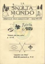 LA SKOLTA MONDO - Oficiala organo de Skolta Esperanto-Ligo, Nr-o 4/95-1/96