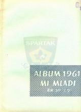 Naslovna strana Albuma ''MI MLADI'' za 1961. (brojevi 59-69)