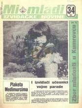 ''MI MLADI'' - izviđačke novine, broj 34 za april 1985.
