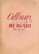 """MI MLADI"", Album za 1958., brojevi 28-38"
