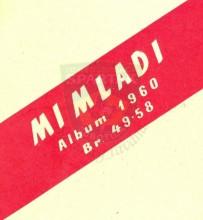 """MI MLADI"", Album za 1960., brojevi 49-58"
