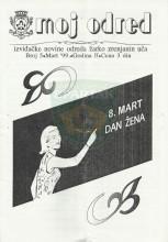 ''MOJ ODRED'' - izviđačke novine odreda ''Žarko Zrenjanin Uča'', broj 05 (mart 1999)