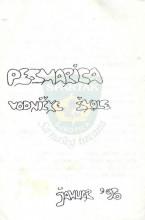 Omot Pesmarice vodničke škole Saveza izviđača opštine Subotica, održane u januaru 1996. godine