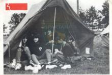Насловница за пројекат ''Зид тишине'' објављеног као посебан број Службеног билтена Савеза извиђача Југославије