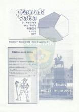 ''Pronađi sebe'' - 7. Smotra izviđača Srbije - Niš 2006. (Glasilo 7. Smotre SIS, broj 1)
