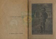 Омот за књигу РУКОВОЂ за хрватске ђачке излетне дружбе (scout-дружбе) (из 1914.год.!)
