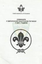 Семинари у европском скаутском региону у 2001. години