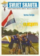 ''SVIJET SKAUTA'' - Časopis izviđača Hrvatske, broj 26 - listopad (oktobar) 2005. - Naslovna