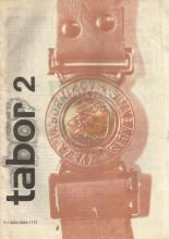 ''Табор'' гласило Звезе Таборников Словеније - 2.број за 1982. годину (фебруар)