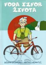 Omot za knjigu Voda izvor života iz edicije Mala izviđačka biblioteka izdavača Izviđačka družba