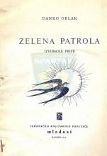 Naslovna strana knjige Danka Oblaka ZELENA PATROLA - Izviđačke priče